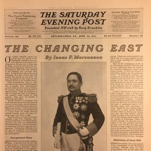 Vintage Other - June 24, 1922 The Saturday Evening Post